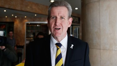 Former NSW premier Barry O'Farrell, who entered Parliament in March 1995.