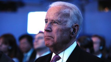 US Vice President Joe Biden at the opening plenary session of the World Economic Forum in Davos.