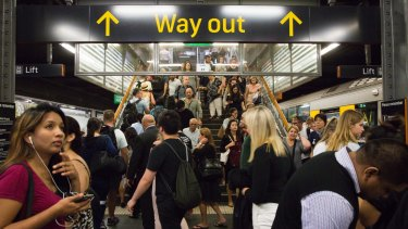 Thursday is the day to avoid Sydney trains.