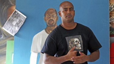 Condemned Australian Myuran Sukumaran has developed a passion for art while on death row in Kerobokan prison in Denpasar, Bali.