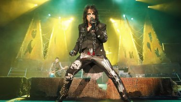 The Godfather of Shock Rock is heading back to Australia in October.