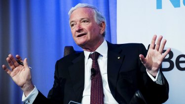 Nick Greiner bows out as Bradken chairman with the company in the doldrums and the new chairman warning the mining sector won't recover until 2018.