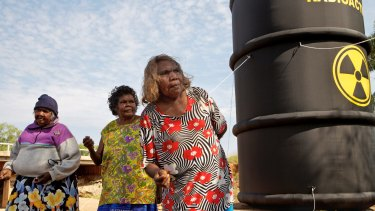 Traditional owners of Muckaty station won a long-running dispute over a nuclear waste dump last year, meaning the returned waste will be stored at Lucas Heights.