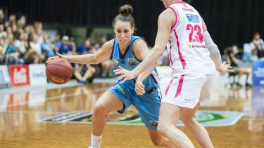 Stephanie Talbot is ready to take her game to the next level for the Canberra Capitals.