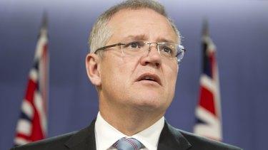 Social Services Minister Scott Morrison.