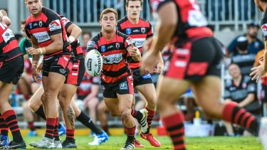 The North Sydney Bears took on the Parramatta Eels in a NRL trial this month.