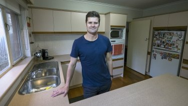 Shane Hills, founder of Koko Black chocolates, in the kitchen of his Templestowe home this year.