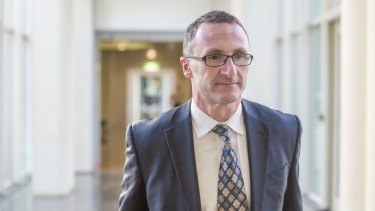 """News Greens leader Richard Di Natale: """"If push came to shove, ultimately the policy stood on its own. I was staggered that Labor didn't support it."""""""