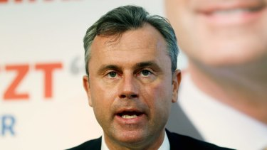 Austria's Norbert Hofer is the kind of character who has become a familiar part of the political landscape.