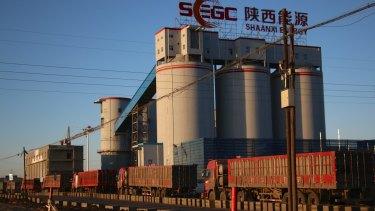 Built on coal: Liangshuijing Coal Mine, Shenmu County.