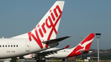 Qantas and Virgin have been criticised over Canberra flight cancellations.