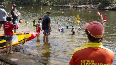 It is the first time since Lake Parramatta has been patrolled since the 1940s.