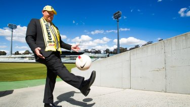 Former A-League4Canberra bid leader Ivan Slavich says Canberra's best way of securing A-League content is to back the Mariners