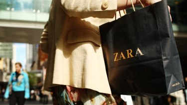 Zara, H&M and Uniqlo will double their market share next year, Macquarie says.