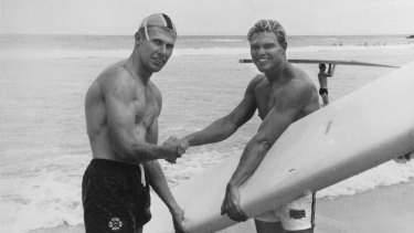 Brian Keane and American Tom Zahn.