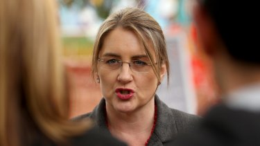 Public Transport Minister Jacinta Allan launched Melbourne's new public transport map on Wednesday.