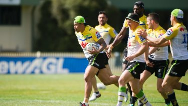 Joey Leilua reckons the key to success in the play-offs is to stay relaxed.