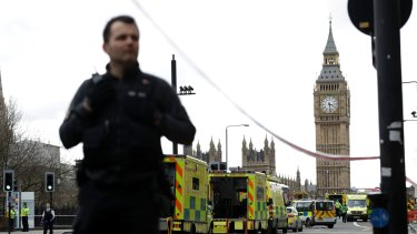 The British Parliament was placed on lockdown for hours.