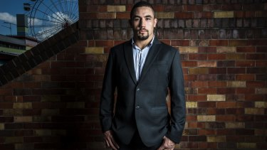 """""""Me going up against the world with Australia behind me and the Australian flag with me, it's my dream"""": Robert Whittaker."""