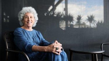 Professor Marion Nestle at Flying Fish restaurant in Sydney last week.