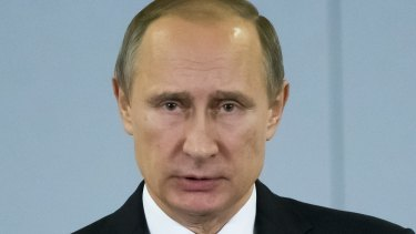 """Russian President Vladimir Putin has described the incident as a """"stab in the back"""" from Turkey."""