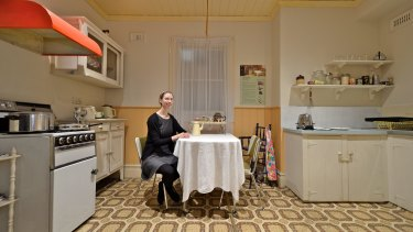 Sarah Gillies, who worked with Alzheimer's Australia, used 1930s decor to trigger memories.