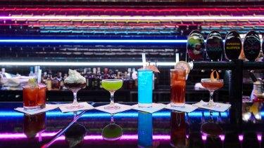 The bar at 88mph. Photo: