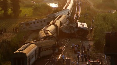 The crash was the country's deadliest rail accident in more than a decade.