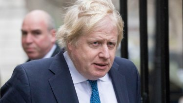 British Foreign Minister Boris Johnson said he had no idea that a lunch with him was auctioned off at the charity event.