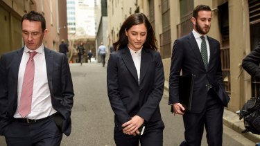 Yahoo 7 reporter Krystal Johnson, whose case has been referred to the Director of Public Prosecutions.