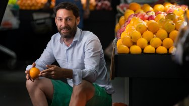 Damian Toscano says it is great that citrus growers are making money.