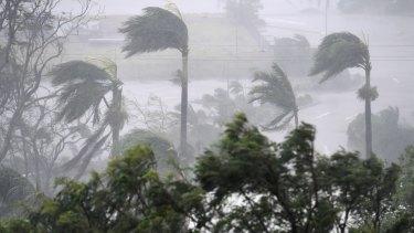 Cyclone Debbie has hit key growing areas around Bowen.