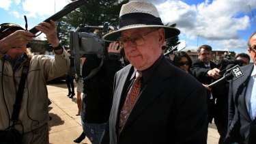 Former priest Brian Spillane outside court in 2008.