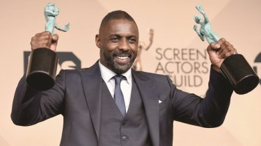 Invited to join Academy ... Idris Elba won Screen Actors Guild awards in January for <i>Beasts of No Nation</i> and <i>Luther</i>.