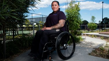 Heidi, a T4 complete paraplegic as a result of a motorcycle accident in 2009, features in the documentary. She works at Spinal Chord Injuries Australia.