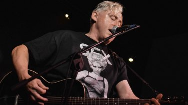 Kirk Brandon turns down the volume but plays his heart out for his first Australian tour.