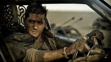 Tom Hardy as Max Rockatansky in <i>Mad Max: Fury Road</i>.