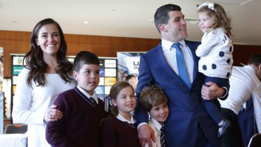 Sharks player Michael Ennis will retire at season's end to spend more time with his young family.