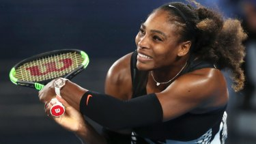 Serena Williams could be back in Melbourne in January.
