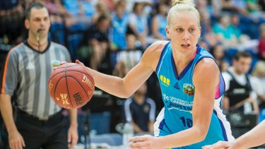 Abby Bishop wants to play on three continents next season.