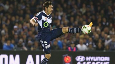 On Sunday, Mark Milligan will get the grand-final opportunity he missed in 2006, as captain of Melbourne Victory.