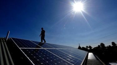 New research shows lower income households are most likely to install solar panels.