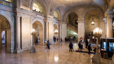 The New York Public Library has about 8 million members, all of whom can access the service.