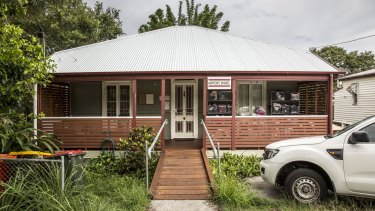 Women's House in Morrissey St, Woolloongabba.