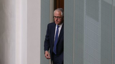 """Malcolm Turnbull  an """"extraordinary combination of energy, self-confidence and thrusting bravado""""."""