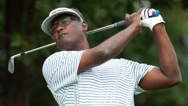 Home-town hero: Vijay Singh. If ever there was the perfect mix of beauty and brutality, he has found it in 18 holes tucked away on the Fijian coast.