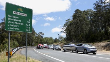 $6 million has been allocated to realign the Kings Highway.