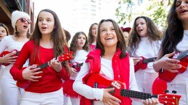 Toy Choir is an all-female ukulele choir, aged 10-18 years.