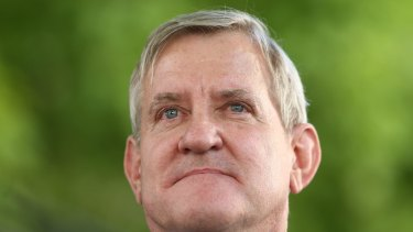 Liberal MP Ian Macfarlane is considering his future following the LNP's rejection of his defection to the Nationals.