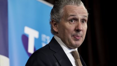 Telstra CEO Andy Penn said the telco would not block a site without a court order.